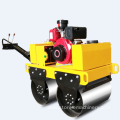 New double drum small weight mechanical road roller